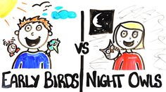 """In a recent episode of AsapSCIENCE (previously), Mitchell Moffit and Gregory Brown explore the different traits of """"early birds"""" versus those of """"night owls"""". As it turns out, there are advantages ..."""