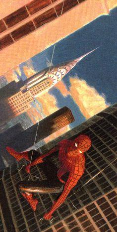 MYTHOS: SPIDER-MAN #1 (Aug. 2007) - Paolo Rivera
