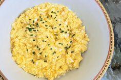 Sous vide scrambled eggs