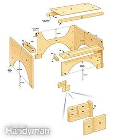 Build this take-down table saw table to make the perfect work station for a…