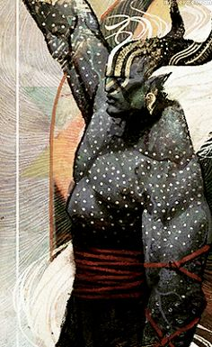Dragon Age: Inquisition tarot card - Qunari