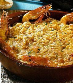 Açorda de camarão - http://www.receitassimples.pt/acorda-de-camarao/