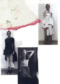 Fashion Sketchbook - fashion design development & textile research; fashion portfolio // Ashley Kang