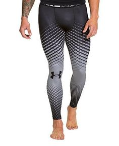 Under Armour Men's HeatGear® Sonic Crosshairs Compression Leggings Small Black Running Pants, Sport Pants, Workout Attire, Workout Wear, Lycra Men, Mens Tights, Gym Style, Under Armour Men, Gym Wear