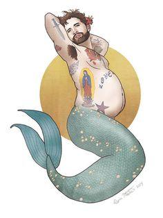 fat merman