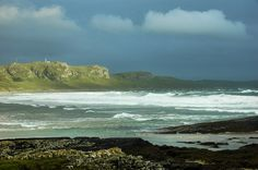 Dramatic clouds over Machir Bay, Isle of Islay