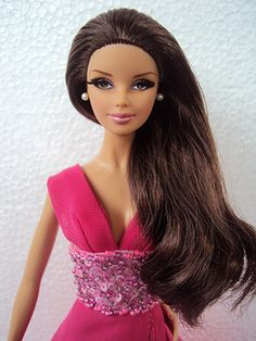 look city barbie | Barbie Look City Shopper Mackie face mold