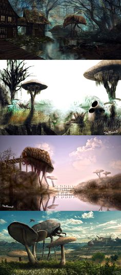Morrowind,The Elder Scrolls,фэндомы,силт страйдер,длиннопост,красивые картинки,пост с музыкой,к сожалению хайрез есть только у последних двух артов,(