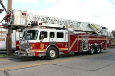 ◆Indianapolis, IN FD Ladder 19 ~ American LaFrance 100' Aerial Tower◆