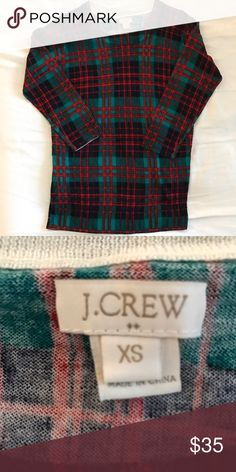 Chic J. Crew Christmas Sweater Sick of Ugly Christmas Sweaters? You can be chic AND sport a cute Christmas themed sweater with this stylish piece from J. Crew. Worn once, mint condition. Size XS. J. Crew Sweaters Crew & Scoop Necks