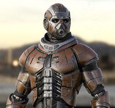 R4 by RAFAEL AMARANTE | Robotic/Cyborg | 3D | CGSociety