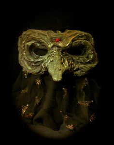 Crone Witch Mask - Katlyn