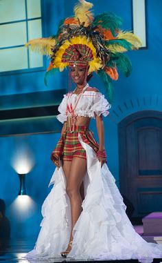 Miss St. Lucia from 2014 Miss Universe National Costume Show | E! Online