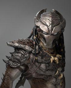 💀 💀 Predator Redesign by Tiago Rios Alien Vs Predator, Predator Costume, Predator Cosplay, Predator Helmet, Predator Movie, Apex Predator, Le Joker Batman, Predator Tattoo, Arte Sci Fi