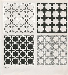 Pattern in Islamic Art Geometric Patterns, Geometric Designs, Textures Patterns, Stencil Patterns, Stencil Designs, Pattern Art, Pattern Design, Print Patterns, Islamic Art Pattern