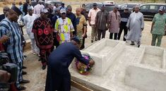 Obasanjo visits Benue graveside, says herdsmen killings must end