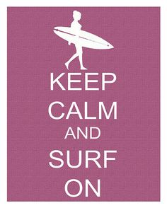 I know a lot of you out there don't like to surf, or maybe don't like the beach, or is scared of the ocean, but why not give it a go? You can't stop the waves, but you can always learn how to surf. Surf Mar, Soul Surfer, Learn To Surf, Thing 1, Surf Style, Paradis, Surf Girls, Surfs Up, Keep Calm