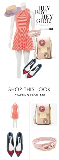 """""""dress"""" by masayuki4499 ❤ liked on Polyvore featuring Opening Ceremony, MICHAEL Michael Kors, Alice + Olivia, Salvatore Ferragamo and Federica Moretti"""