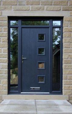 Fresh, modern front door design
