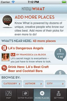 My new Drink Here: Cocktail and Craft Beer Guide to LA! (via @knowwhatapp)