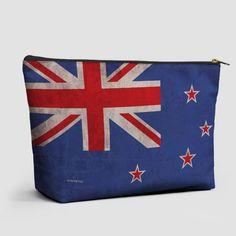 New Zealand Flag - Pouch Bag