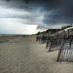 Storm over Frisco NC