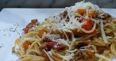 fischiscooking, pasta asciutta Spaghetti, Pasta, Ethnic Recipes, Food, Mediterranean Kitchen, Noodles, Meals, Noodle, Pasta Recipes