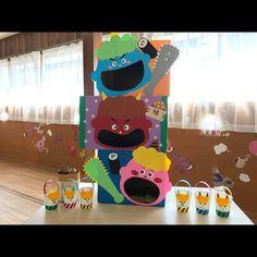 【アプリ投稿】製作/節分 | みんなが投稿した遊びや製作の写真がいっぱい!あそびのタネNo.1 保育や子育てに繋がる遊び情報サイト[ほいくる] Diy And Crafts, Crafts For Kids, Arts And Crafts, Paper Crafts, Kindergarten Design, Child Day, Handmade Toys, Toy Chest, Kids Toys