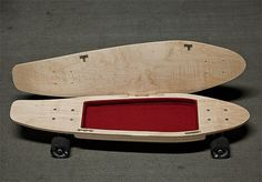 BriefSkate is a Skateboard With a Hidden Compartment, kinda obvious with the compartment sticking out under the board....