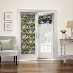 Waverly Sanctuary Rose French Door Panel