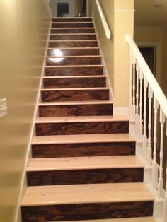 Best Two Toned Stairs Would Look Great With Bills Harlequin 400 x 300