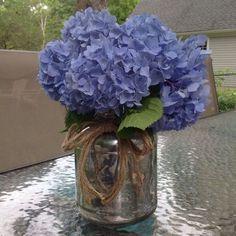 upcycled pickle jar to flower vase, crafts, mason jars, repurposing upcycling, Faux Mercury glass vase
