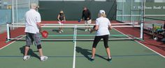 One of our great Pickleball Clubs - California Yacht Club in Marina del Rey, CA