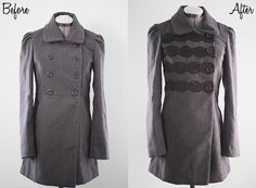 How to...Create Your Own Forever 21 Coat Restyle (Inspiration)