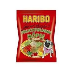 Haribo Fruchtgummi Moepse (Pugs) 200g