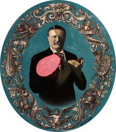 Teddy Roosevelt with Ham