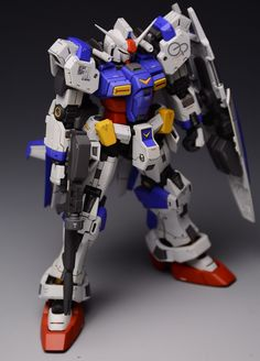 RG 1/144 Gundam GP00 Blossom - Custom Build     Modeled by  狂模