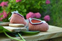 DIY | Baby slippers - Tutorial and free pattern (in italian) - conunfilo.blogspot.it