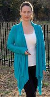 How to Make a Draped Cardigan