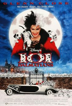 Six-time oscar-nominee glenn close played the role in two live action films but. Performance by five-time academy award-nominee glenn close as cruella de. Walt Disney Pictures, Walt Disney Movies, Film Disney, Glenn Close, Live Action, Action Film, 101 Dalmatians Movie, Retro Video, Peliculas Online Hd