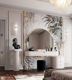 Modern Luxury Bedroom, Luxury Bedroom Design, Master Bedroom Interior, Home Room Design, Dream Home Design, Luxurious Bedrooms, Luxury Interior, Home Bedroom, Home Interior Design