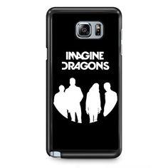 Imagine Dragons Band TATUM-5558 Samsung Phonecase Cover Samsung Galaxy Note 2 Note 3 Note 4 Note 5 Note Edge