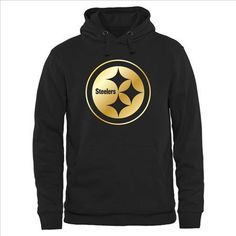 Men's Pittsburgh Steelers Pro Line Black Gold Collection Pullover Hoodie|only US$36.80 - follow me to pick up couopons.