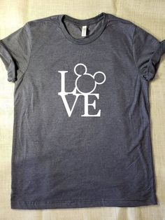 f3169881 Mickey Mouse Love Square Tshirt. Visit our teespring store to get more  tshirts for you