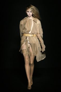 A.F. Vandevorst at Paris Fashion Week Spring 2010