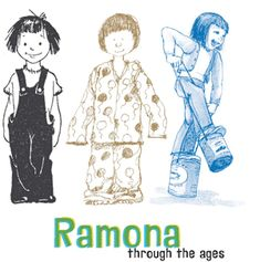 """Ramona Quimby - one of my favorite """"book moments"""" - when Ramona wears her new flannel balloon pj's to school under her clothes.  Sweet girl!"""