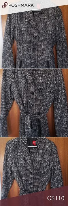 Guess Tweed Trenchcoat Like new condition. Worn once. Zipped pockets and button up coat with belt. Guess Jackets & Coats Trench Coats - Women Trench Coats - Ideas of Women Trench Coats Coats For Women, Jackets For Women, Plus Fashion, Fashion Tips, Fashion Trends, Trench Coats, Tweed, Belt, Pockets