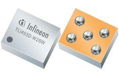 Infineon's TLI493D-W2BW 3D Magnetic Sensor Electronics Components, Magnets