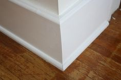 To make your baseboard more dramatic, add small pieces of trim to the top of existing baseboard, add a few inches and add another piece of moulding. Description from pinterest.com. I searched for this on bing.com/images