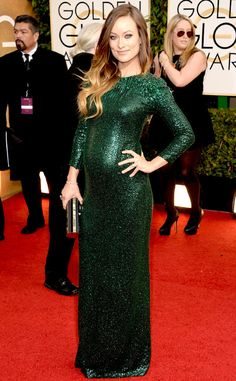 Olivia Wilde in Gucci Best Dressed at the 2014 Golden Globe Awards